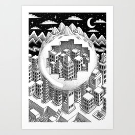 Encapsulated Art Print