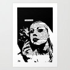 I Could Say More Art Print