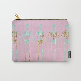 Spooky Skeletons Carry-All Pouch