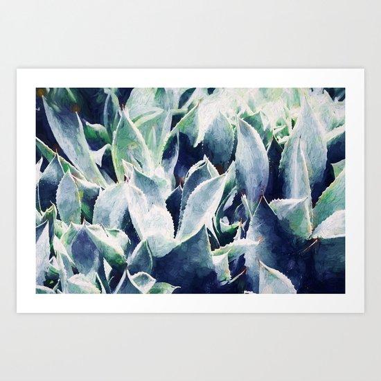 Cactus Garden #society6 #deco3 buyart Art Print