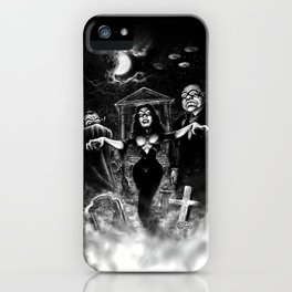 Vampira Plan 9 iPhone Case