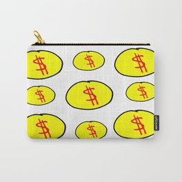 coins and money Carry-All Pouch