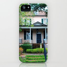 Stewart Parker House Front iPhone Case