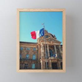 Palais du Rhin Framed Mini Art Print