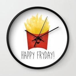 Happy Fryday! Wall Clock