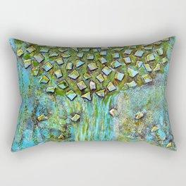 Turquoise home Rectangular Pillow