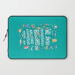 Lose ourselves in books Laptop Sleeve