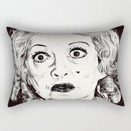 Bette Davis/Baby Jane Rectangular Pillow