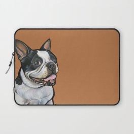 Snoopy the Boston Terrier Laptop Sleeve