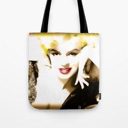 Portrait of  Marilyn Monroe Tote Bag