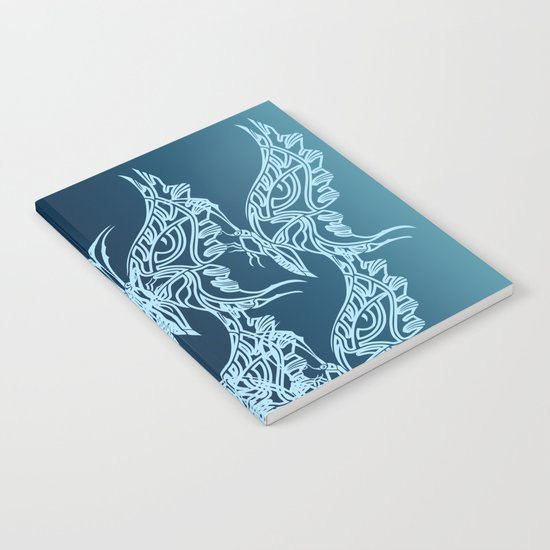 Indian Butterfly Enblem Notebook