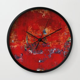 Scrubble Wall Clock
