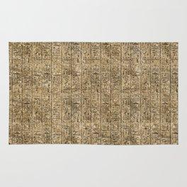 Egyptian Hieroglyphics Rug