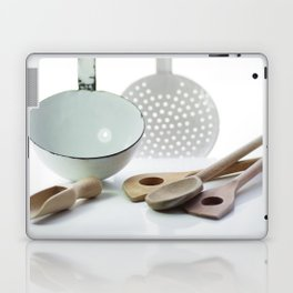 Spoon of old and new from time Laptop & iPad Skin