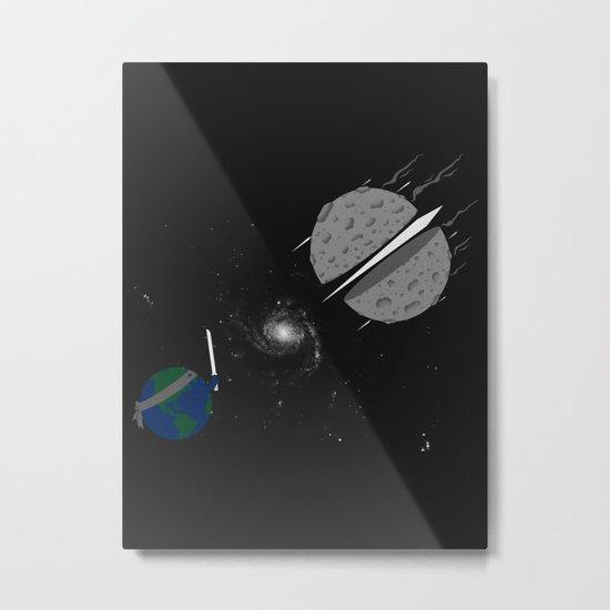 Asteroid Ninja Metal Print