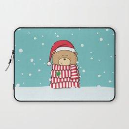 Christmas Teddy bear Laptop Sleeve