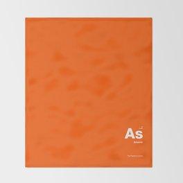 Arsenic Throw Blanket