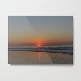 Sunrise LBI Metal Print