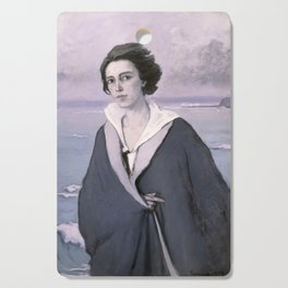 At The Seaside, Self-portrait by Romaine Brooks Cutting Board