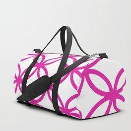 Interlocking Pink Duffle Bag