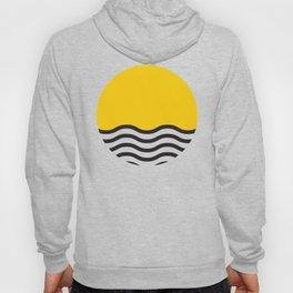 Waves of Yellow Hoody