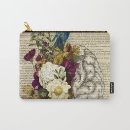 medical floral brain Carry-All Pouch