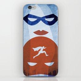 Nightly patrol Superheroes SF iPhone Skin