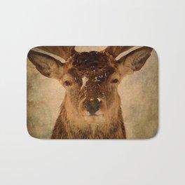 Deer In Headlights Bath Mat