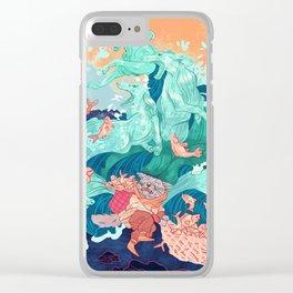 Ocean Thieves Clear iPhone Case