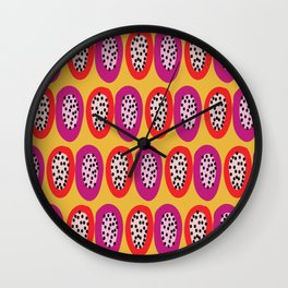Pitayas Wall Clock