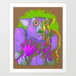 Death Is The Answer, For The Question Is I! Art Print