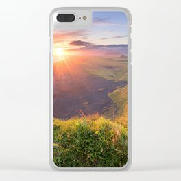 Northern Paradise Clear iPhone Case