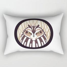 Short-eared Owl Rectangular Pillow