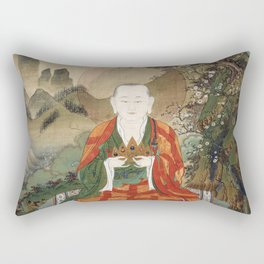 Rahula - Son of Buddha - 16th Century Rectangular Pillow