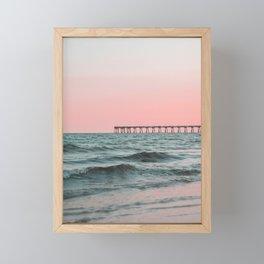 Pink Ocean Framed Mini Art Print
