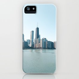 Chicago Skyline Over Lake Michigan iPhone Case