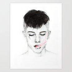 Testament. Art Print