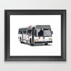 Bus Framed Art Print