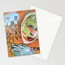 Abstract 82-89 Stationery Cards