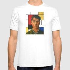 Ludwig Wittgenstein Mens Fitted Tee White MEDIUM