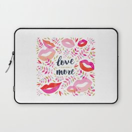 Love Yourself More #inspirational #society6 #decor Laptop Sleeve