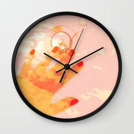 Plugged Wall Clock