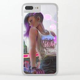 Sakuna Kawama: Sombra Clear iPhone Case