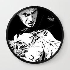 The Terrifying Lover (Mono) Wall Clock