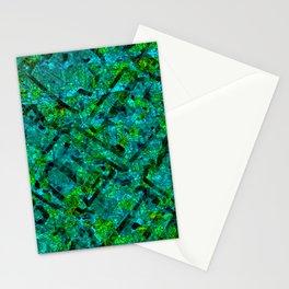 Vitrage (Turquoise) Stationery Cards