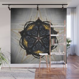 Magic // Witch Witchcraft Star Pentagram Pentacle Wicca Sacred Symbol Protection Energy Magical Wall Mural