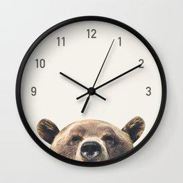 Bear Clock Wall Clock