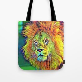 AnimalColor_Lion_009_by_JAMColors Tote Bag