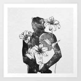 You are my flowery drug. Art Print