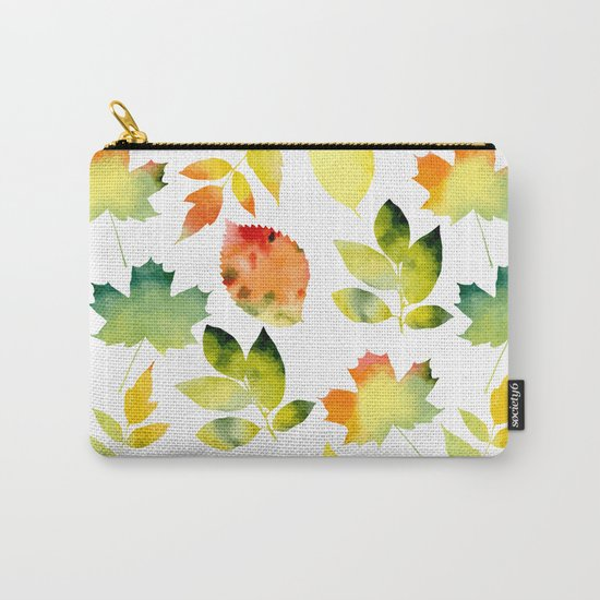 Leaf fall Carry-All Pouch